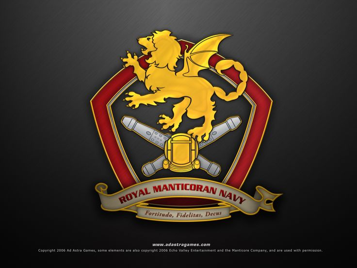 Honorcon, the first annual Honor Harrington convention - Here's the crest of the Royal Manticoran Navy