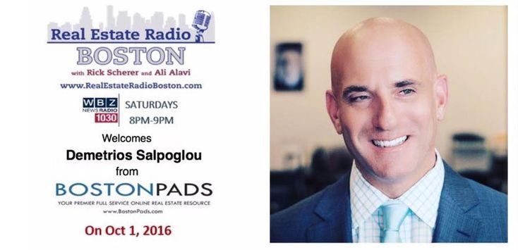 Demetrios Salpoglou CEO of Boston Pads - WBZ Interview