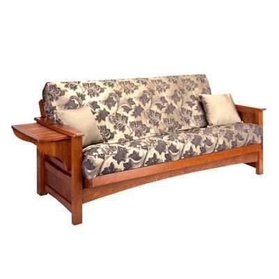 Gold Bond Burlington Futon Frame Size Loveseat Finish Cherry Oak