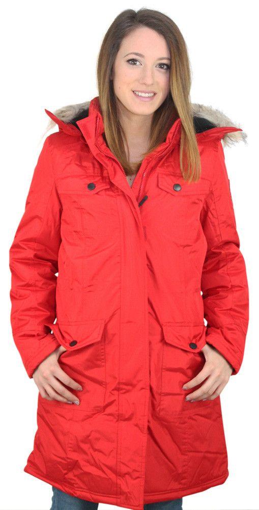 Canada Weather Gear Women's Faux Down Goose Jacket Coat
