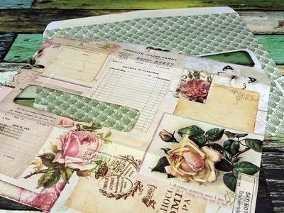 Junk journal tips - I wanted to share how I print on other paper supplies besides matte photo paper. I was inspired by an idea I saw recently by Wendy Roberts on YouTube.