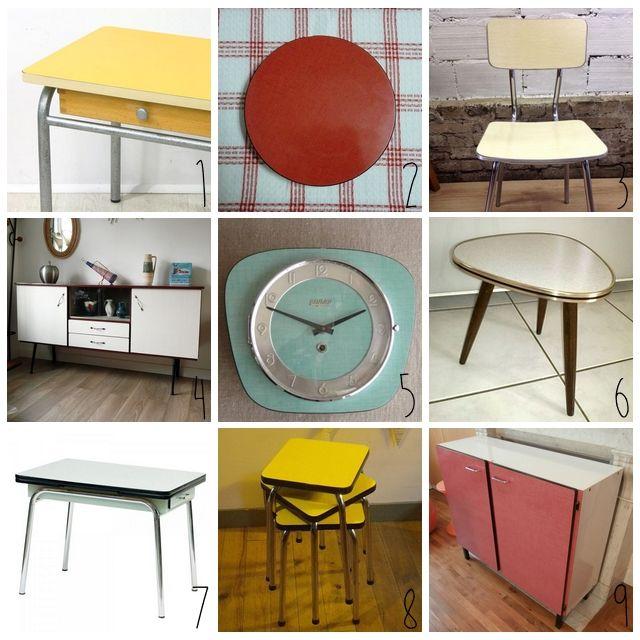 les 25 meilleures images du tableau cuisine autrefois sur pinterest cuisine vintage cuisines. Black Bedroom Furniture Sets. Home Design Ideas