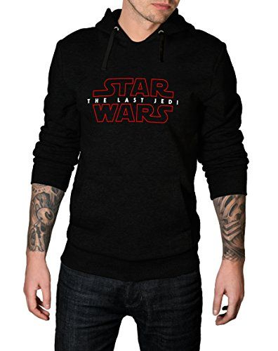 Decrum Red Logo Border Star Wars Hoodie - The Last Jedi Mens Pullover Hoodie //Price: $48.95 & FREE Shipping //     #starwarsfan