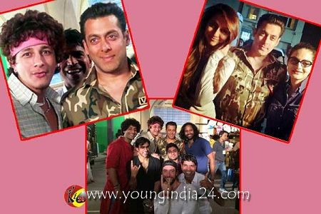 Salman Khan's New Look For A Cola Commercial.   Click Here For Full News http://youngindia24.com/salman-khans-new-look-for-a-cola-commercial/