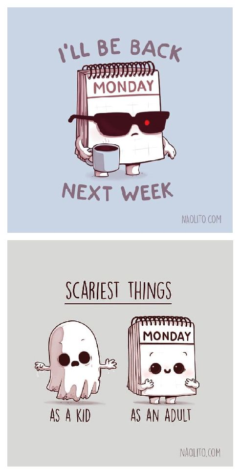 Scary Monday. Best Creative design Illustration. Trending Colors, digital art, t…