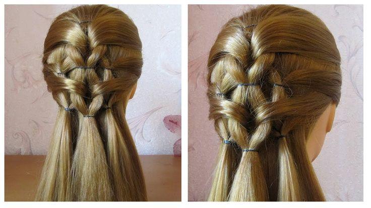 Coiffure pour l'école / collège Tuto coiffure facile à faire soi même ...