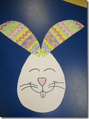 Is It an egg or a bunny? Cute easter craft.