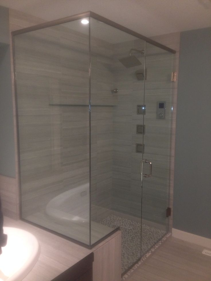 105 best Showers designed by accurate glass and lock images on ...
