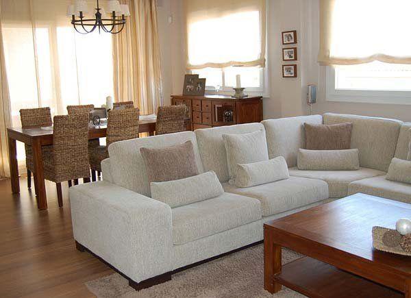 Una decoraci n c lida y atemporal living decoraci n de unas comedores y sofas en esquina - Atemporal sofas ...