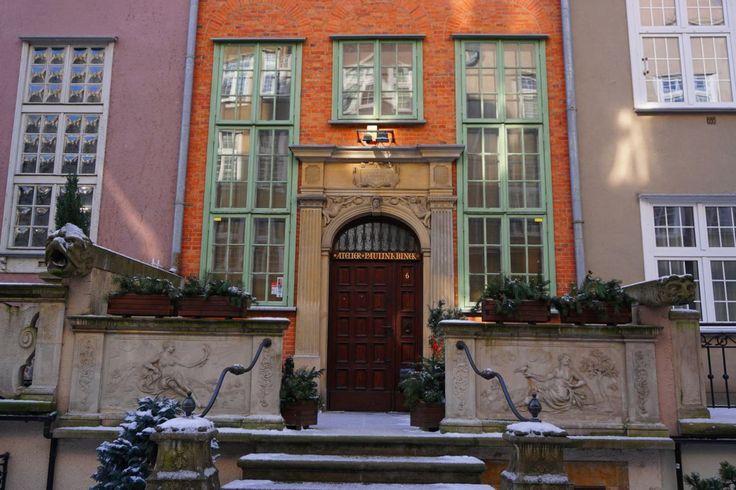 House entrance on Ulica Mariacka, Gdańsk