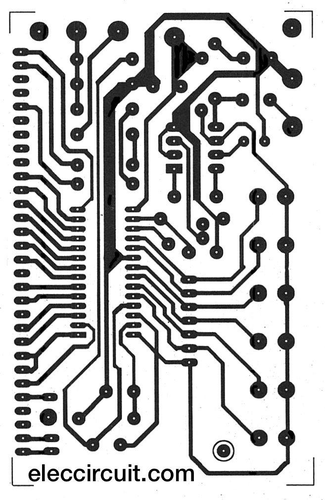 LM8560 Digital clock circuit diagram with alarm