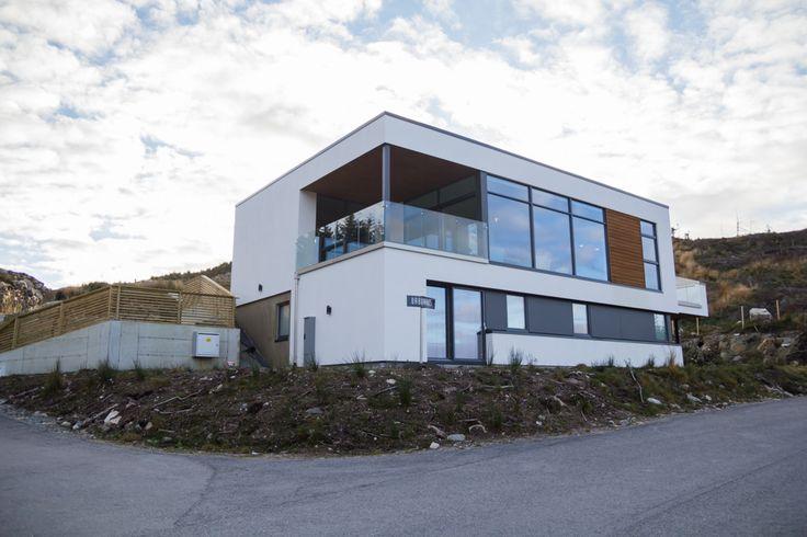 På taket av Haugesund   Vi Bygger Nytt