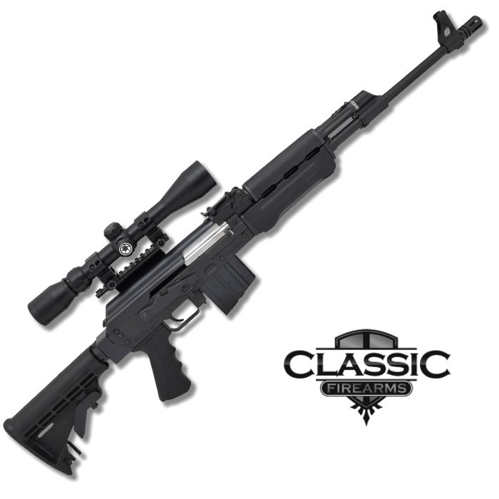 Zastava PAP M77 P.S. Rifle On Sale Now! Purchase one of our Conversion Kits, or just the Stock Adapter, and adapt your M77 to any AR-15 Collapsible Stock!  https://www.classicfirearms.com/catalogsearch/result/?cat=0&q=m77  #classicfirearms #rifles #M77 #AR15 #sale