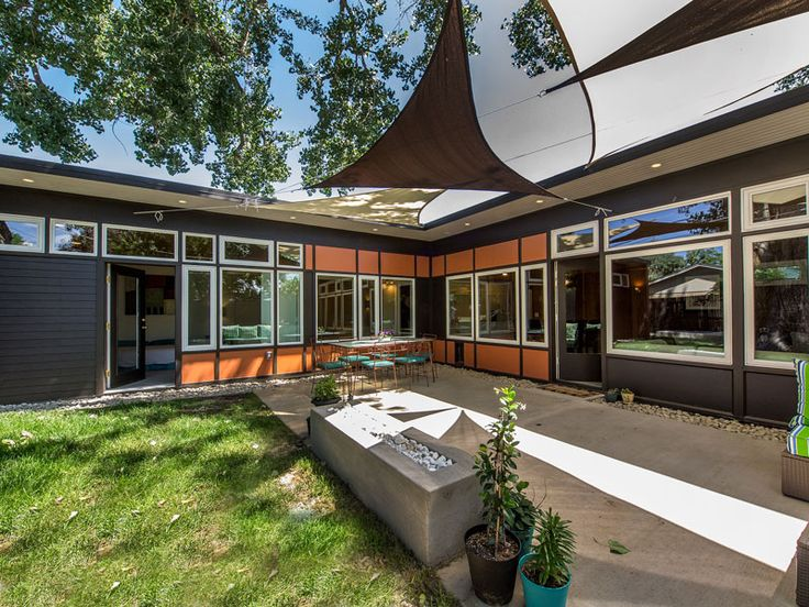 3518 Best Images About Mid Century Exteriors On Pinterest