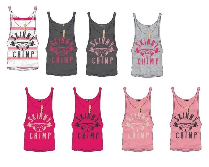 www.skinnychimp.co.uk  Gym wear for strong people