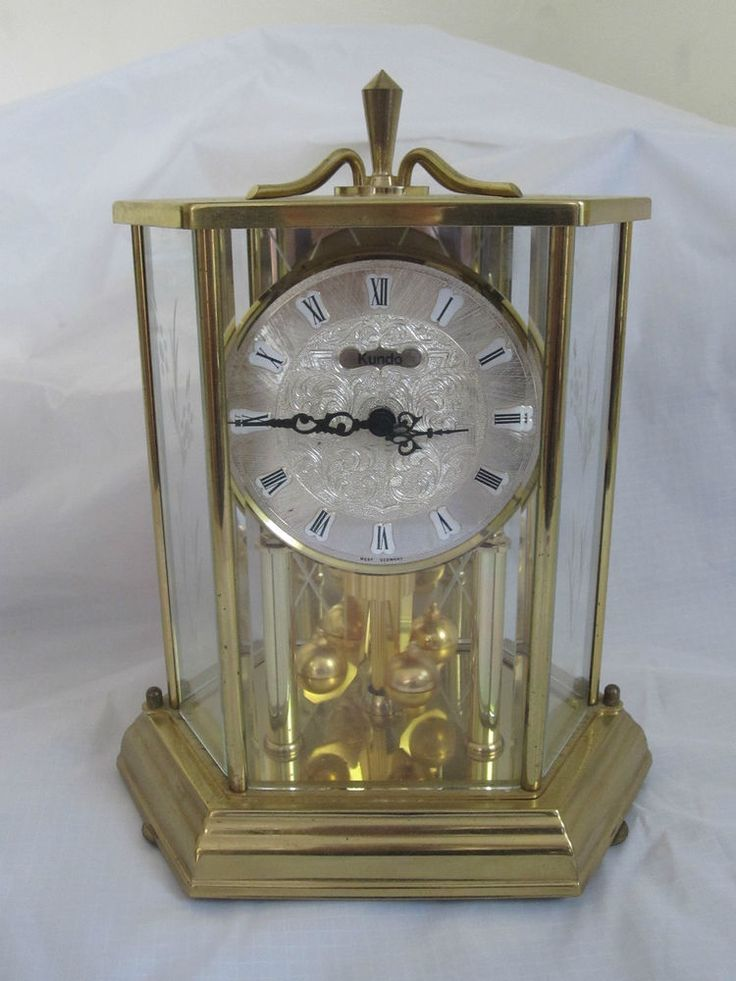 Pendulum  Clock Glass