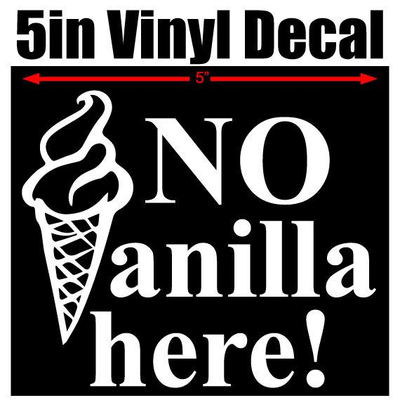5 vinyl window decal available in pink red