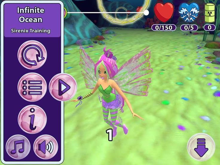 """Flora moves"" in the game!!  Winx Sirenix Power Sent in by Thomas - a SUPER fan ;) www.playwinxclub.com"