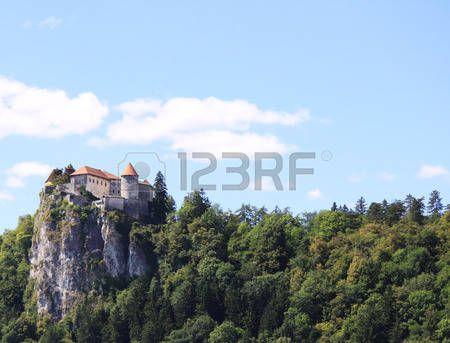 The castle of Bled Slovenja