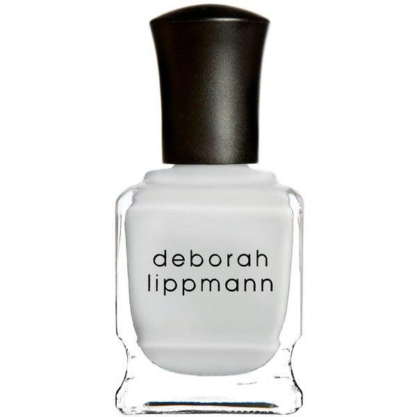 Deborah Lippmann Nail Colour ($21) ❤ liked on Polyvore featuring beauty products, nail care, nail polish, deborah lippmann nail lacquer, deborah lippmann, deborah lippmann nail color and deborah lippmann nail polish