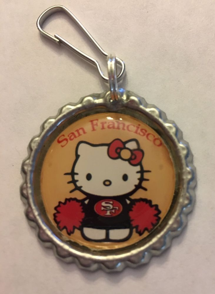 San Francisco 49ers Hello Kitty Inspired Zipper Pull Purse Pull keychain lanyard | Sports Mem, Cards & Fan Shop, Fan Apparel & Souvenirs, Football-NFL | eBay!