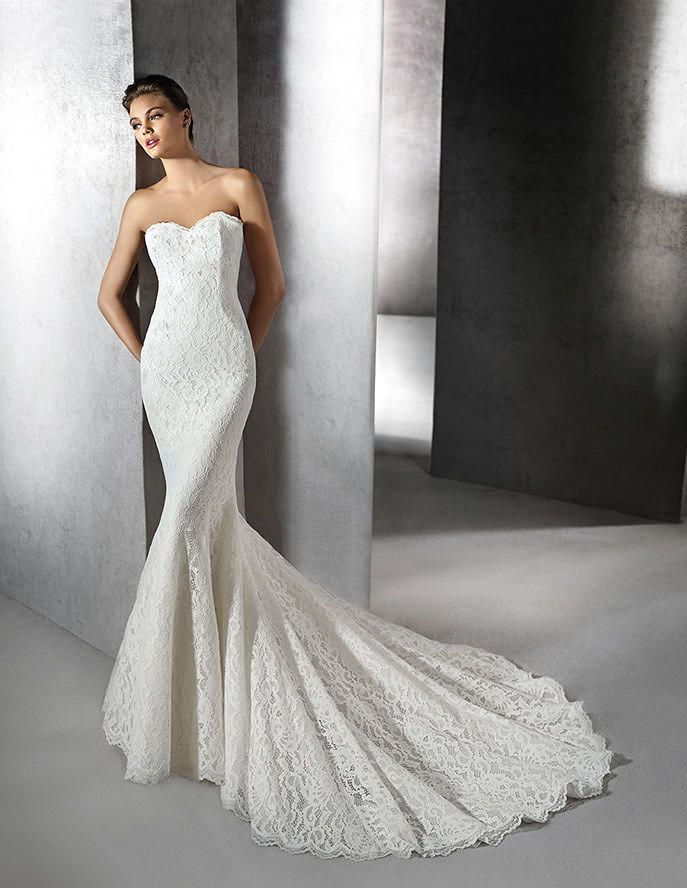 elegant 2016 San Patrick wedding dresses