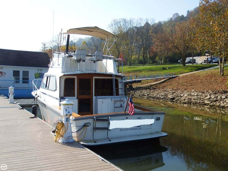 Good condition, well maintained by the owner, great boat for fishing and overnighting!