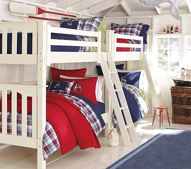 Nautical bedroom - would be cool for Timmy's room
