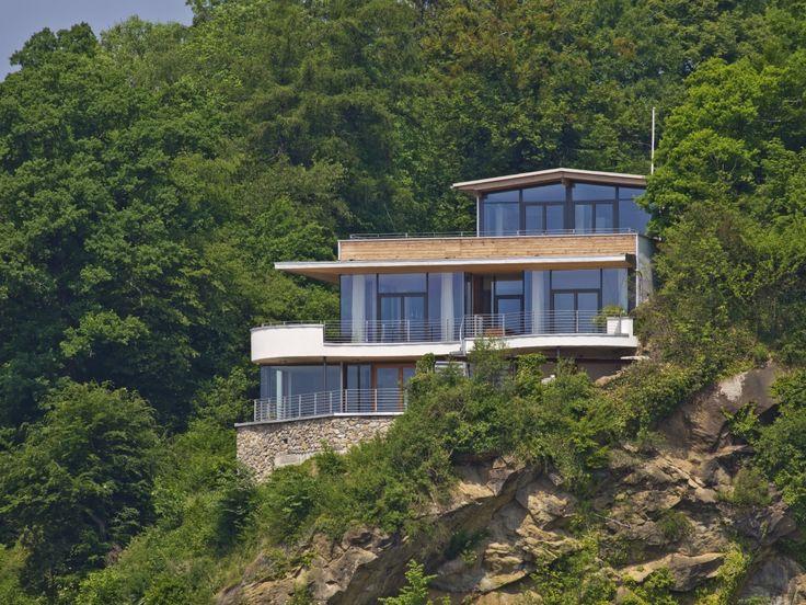 Fancy Bau Fritz Haus Weitblick Luxus Haus am Hang