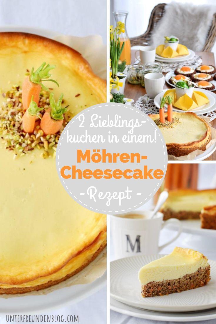 Der saftigste Karotten-Cheesecake zu Ostern – ich schwöre bei meiner Möhre!