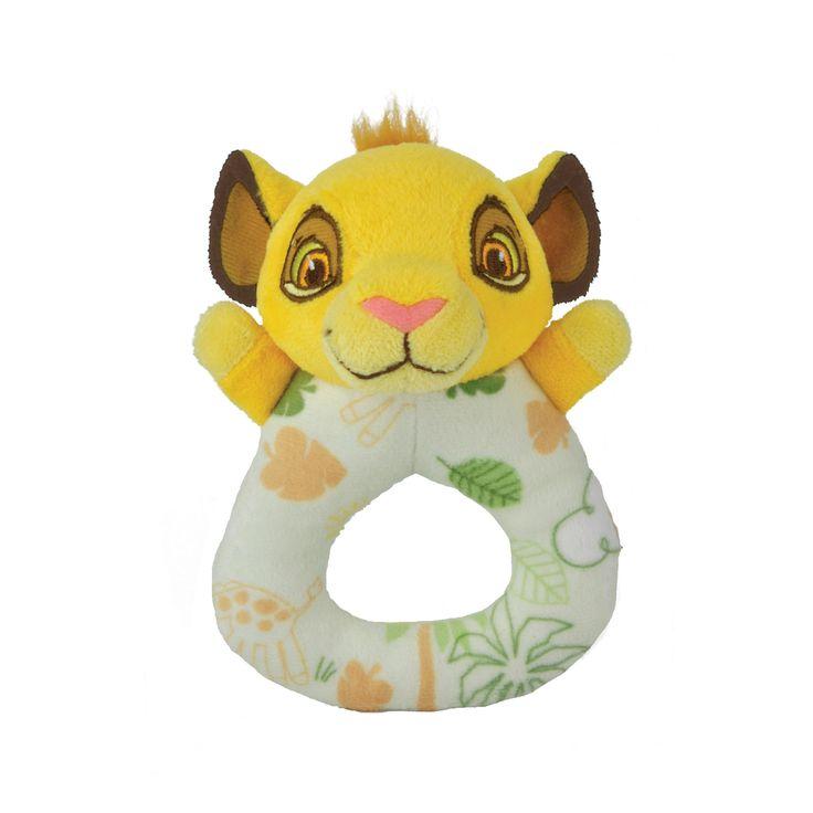 The Lion King Simba Ring Rattle Disney Baby Cashton