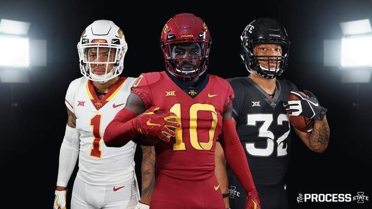 New Iowa State Football Uniforms Unveiled Including A Black