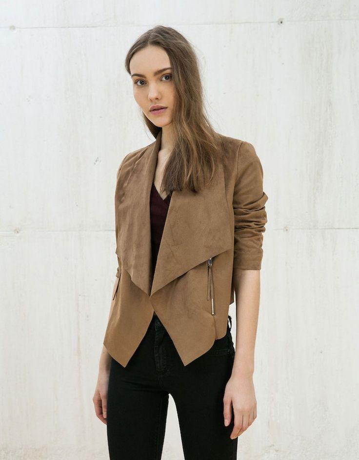 Bershka yazlık mont ceket modelleri