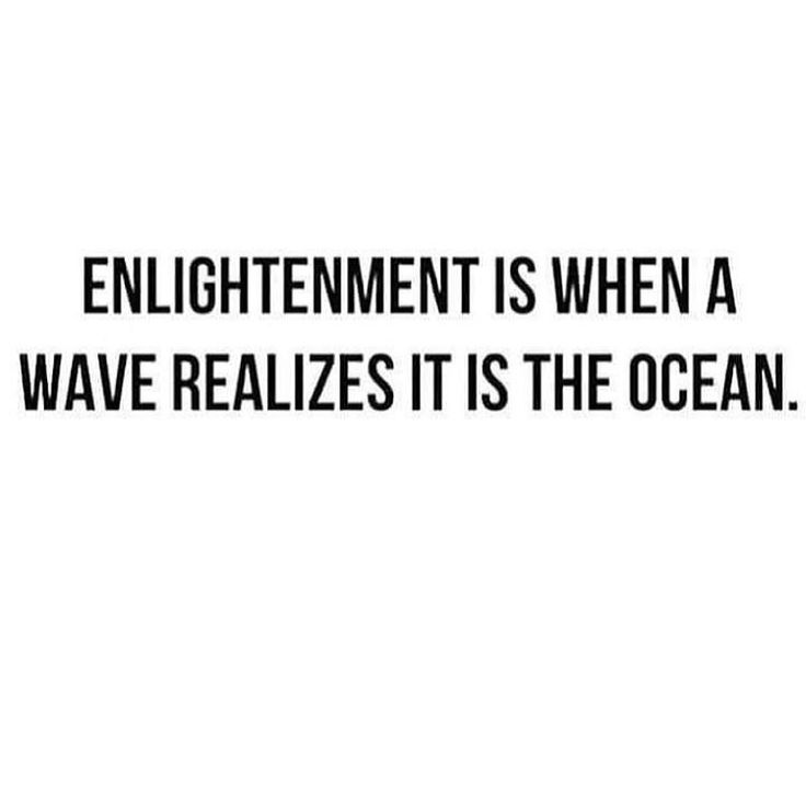 Like that Rumi quote...you are not a drop in the ocean, but the entire ocean in a drop ✨ we are so much more powerful than we think.