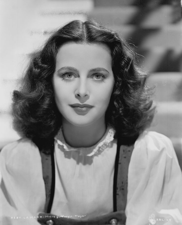 UNSPECIFIED - JANUARY 01:  Photo of Hedy Lamarr  (Photo by Michael Ochs Archives/Getty Images) via @AOL_Lifestyle Read more: http://www.aol.com/article/2015/11/09/google-doodle-honors-actress-and-inventor-hedy-lamarr/21261306/?a_dgi=aolshare_pinterest#fullscreen