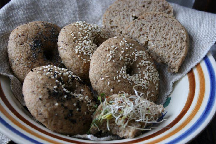Miękkie obwarzanki/ bułki bezglutenowe. Bez glutenu, bez jajek, bez laktozy. – Bezglutenowe jadło.