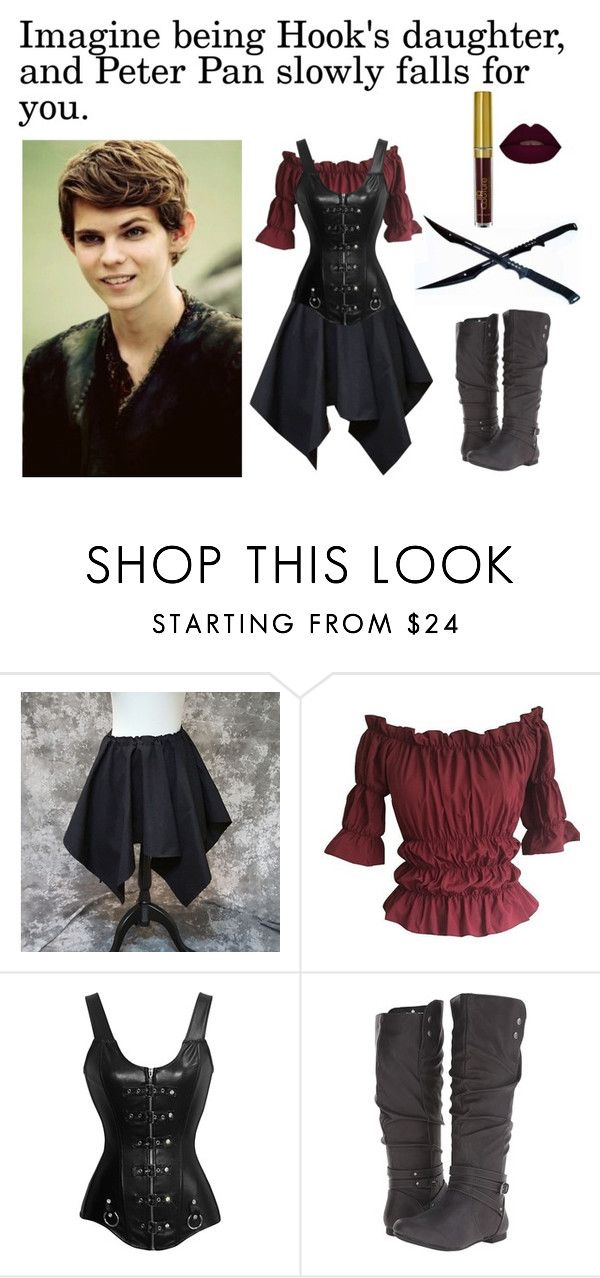 """""""Peter Pan Imagine"""" by book-girl-4 ❤ liked on Polyvore featuring Once Upon a Time, Fergalicious, imagine, peterpan and ouat"""