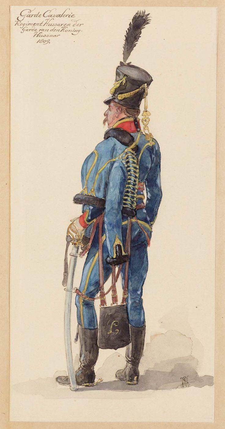 Huzaar van het Regiment Huzaren van de Garde van de Koning