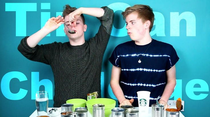 Tin Can challenge! Yummy. Hungry? @YouTube is a cruel place. http://youtube.com/nikinsammy http://twitter.com/nikinsammy http://facebook.com/nikinsammy
