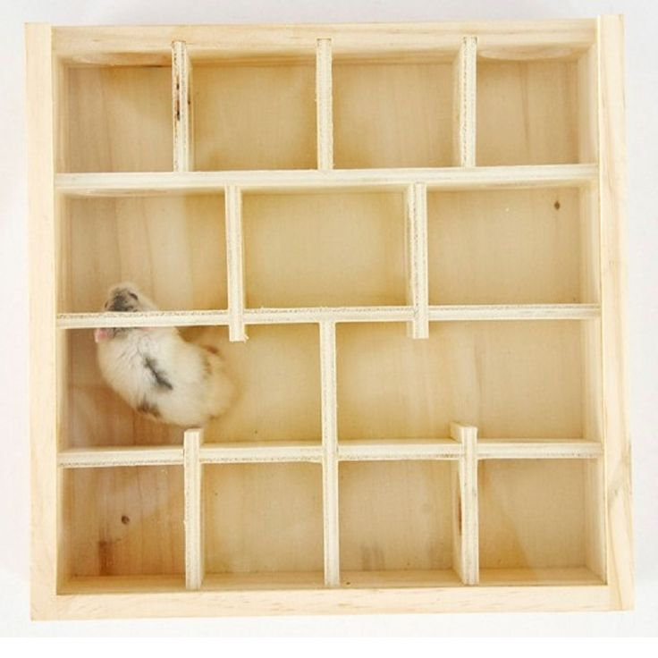 ==> [Free Shipping] Buy Best Wooden& Glass Surface Hamster Toy Intellectual Toys Chew Toys Gerbil Hamster Cage Decoration Tubes&Tunnels Hamster House Maze Online with LOWEST Price | 32768776276