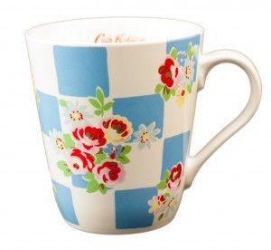 #Kubek #CathKidston Blue - świetny #prezent dla miłośników #brytyjskiego stylu