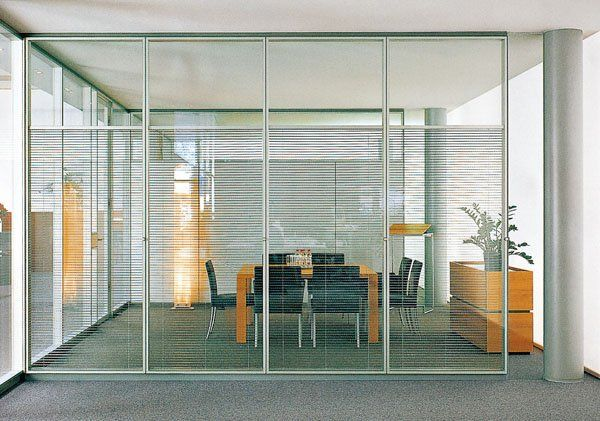 glass partition with partial etching modern office space pinterest