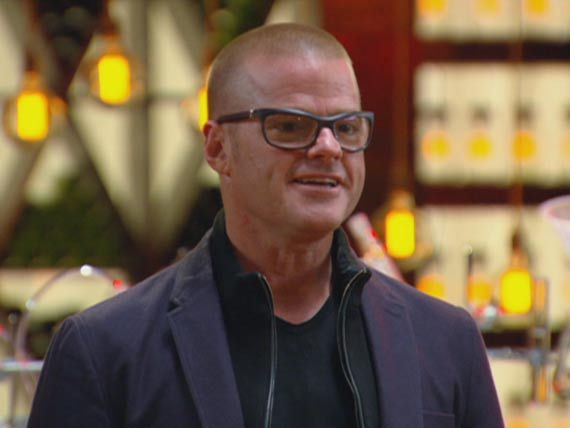 The contestants go gaga over meeting Heston Blumenthal and are over the moon to hear that they will be spending the week with him.