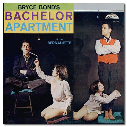 Another swinging evening in Bryce's bachelor apartment.