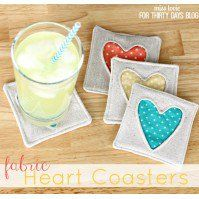 Hi! Stephanie from Swoodson Says, sharing a round-up of free coaster patterns and tutorials. Coasters are fun to sew for a bunch of reasons – they are great for busting scraps, everyone can use them, they are quick to sew, and there is lots of room for personalization and embellishment. It looks much more polished to have your guests place their drinks on a fun coaster instead of a stack of magazines! A set of four makes a nice gift by itself, but you can also easily pair them with…