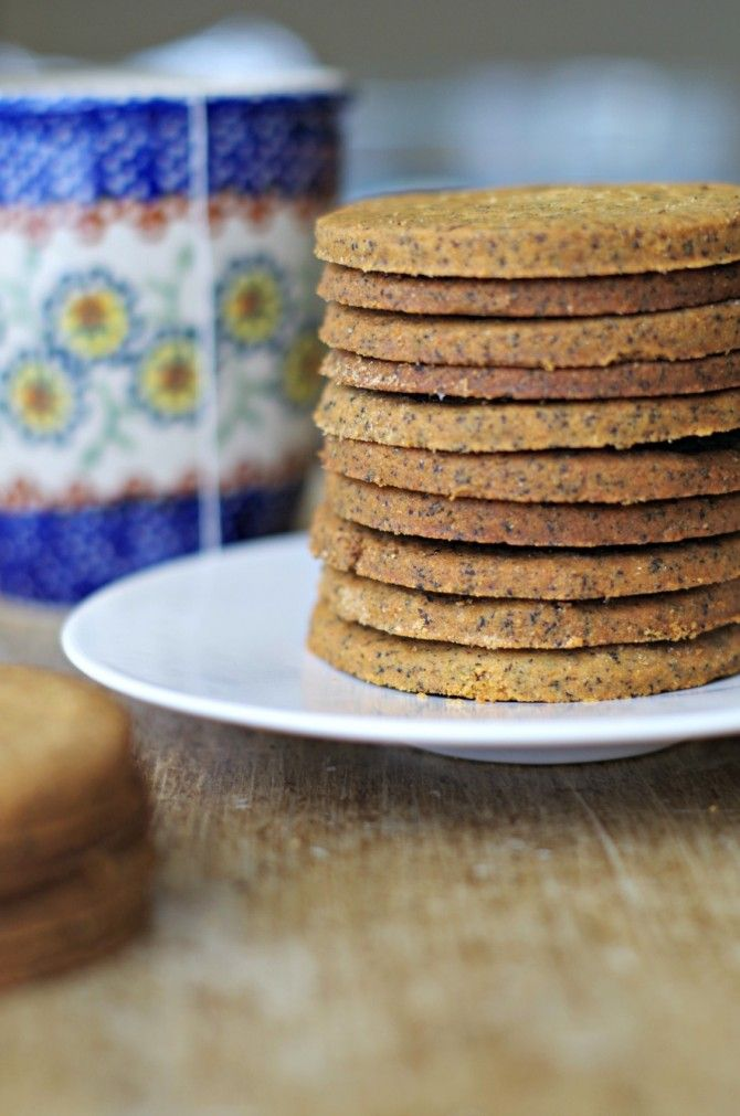 Whole Wheat English Breakfast Tea Shortbread