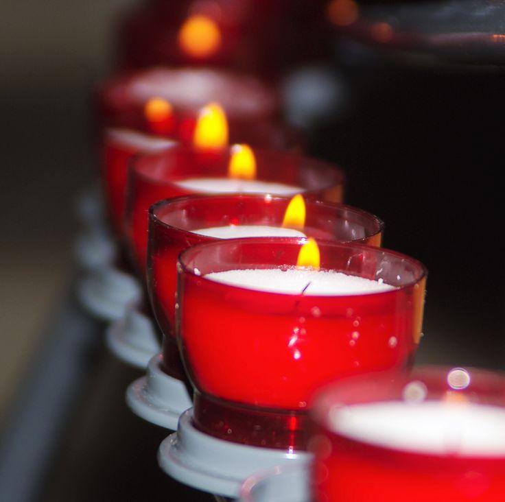 train de bougies