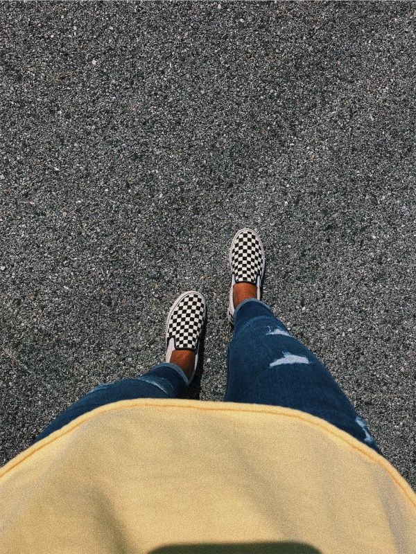 Fall Photo Inspo Vans Off The Wall Cute VSCO