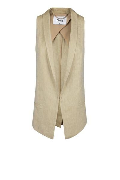 Блузка без рукавов под пиджак