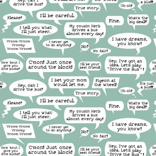 Word Bubbles by Cloud9 Fabrics - 1/2 yard
